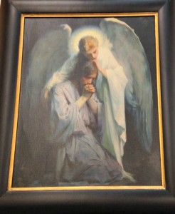 Angel Comforting the Savior